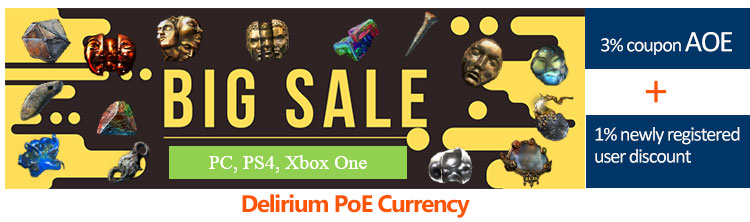 Buy PoE Currency with coupon AOE
