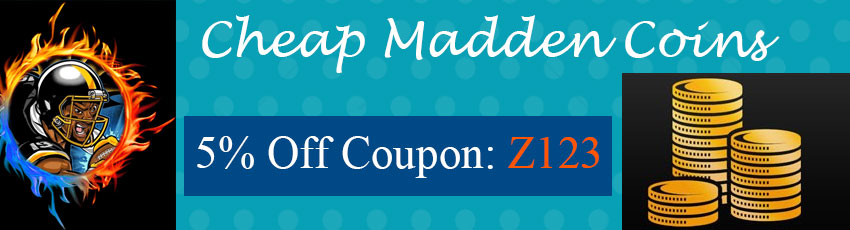 Buy Madden 20 Coins with Coupon Z123!