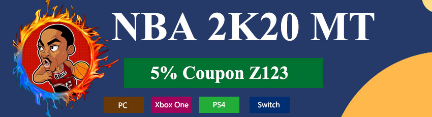 Buy NBA 2K MT with Coupon Z123!