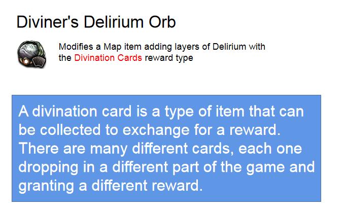 Diviner's Delirium Orb