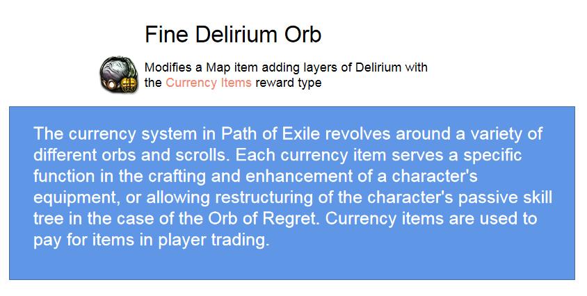 Fine Delirium Orb