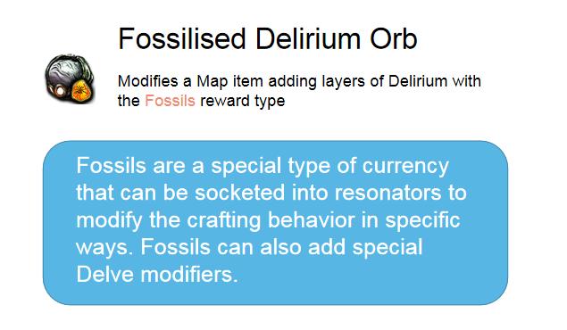 Fossilised Delirium Orb