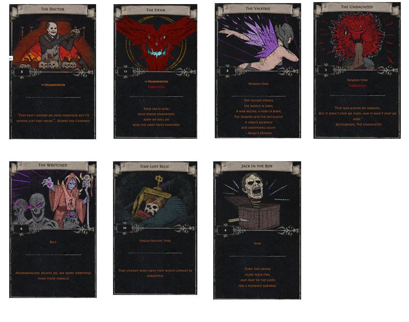 headhunter divination card