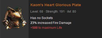 Kaom's Heart