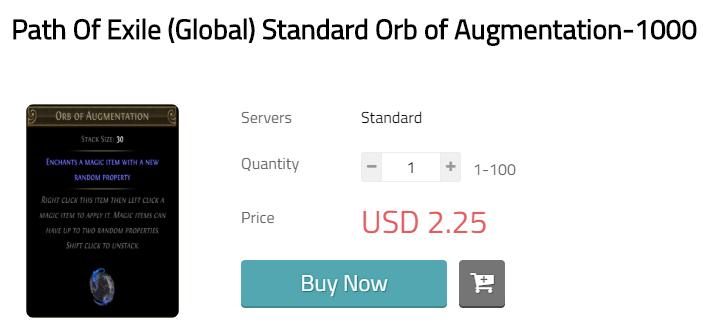 Orb of Augmentation