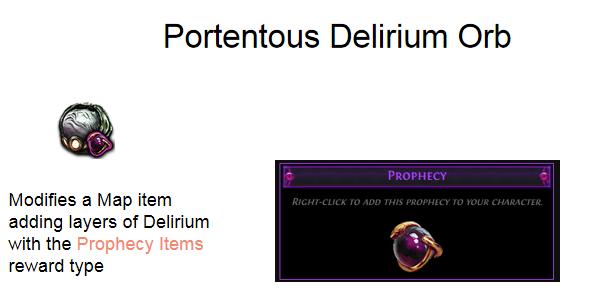 Portentous Delirium Orb
