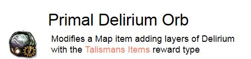 Primal Delirium Orb