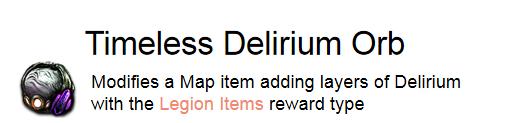 Timeless Delirium Orb