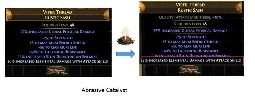 Abrasive Catalyst