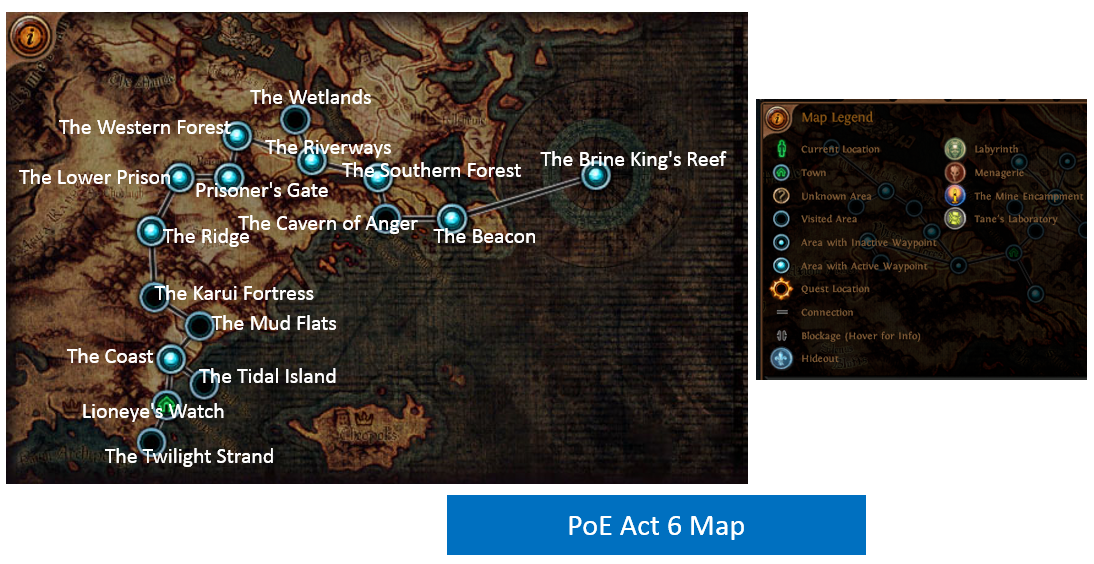 Act 6 Map