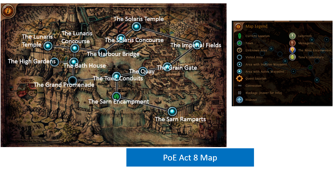 Act 8 Map