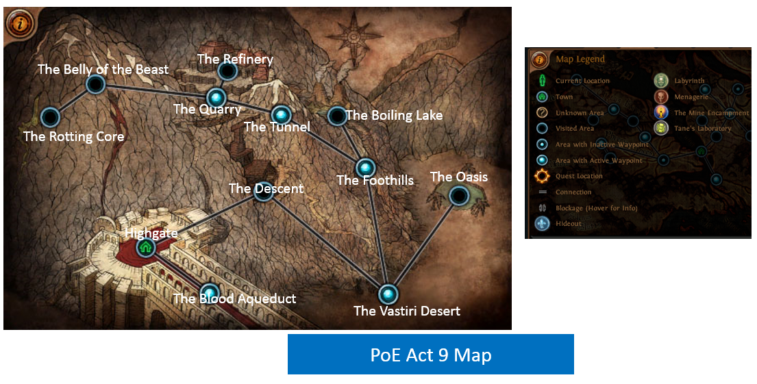 Act 9 Map