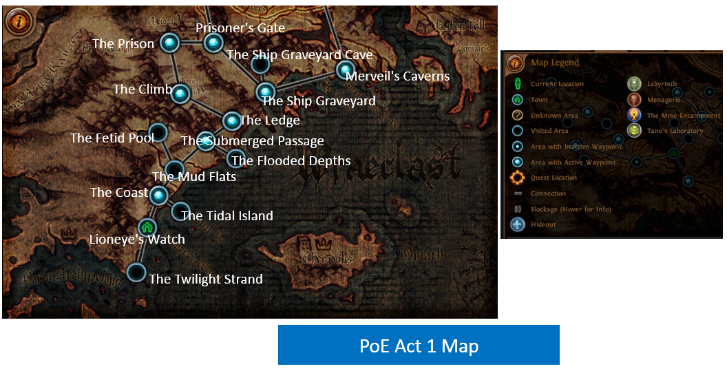 Act 1 Map