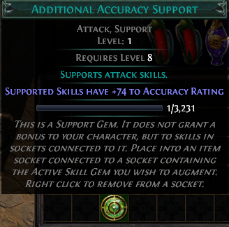 Additional Accuracy Support
