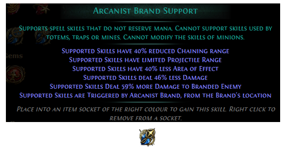 Arcanist Brand Support