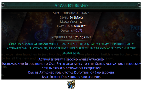 Arcanist Brand