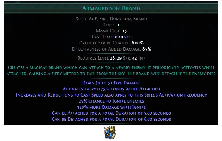 Armageddon Brand