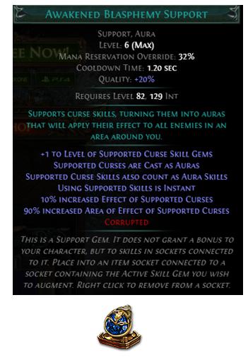 Awakened Blasphemy Support