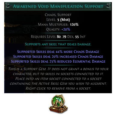 Awakened Void Manipulation Support