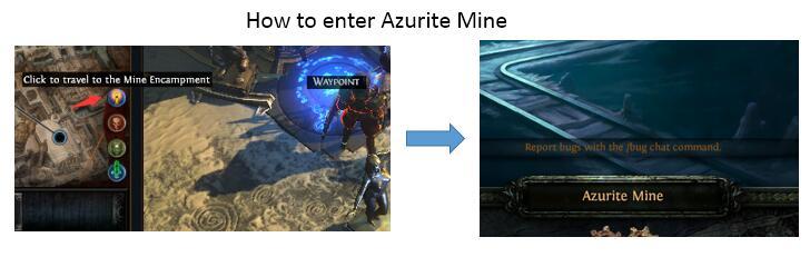 Azurite Mine