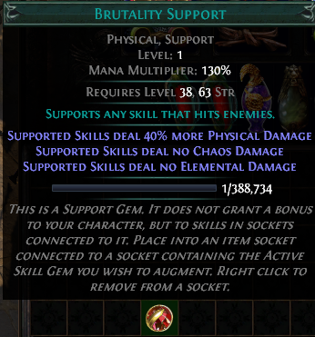 Brutality Support