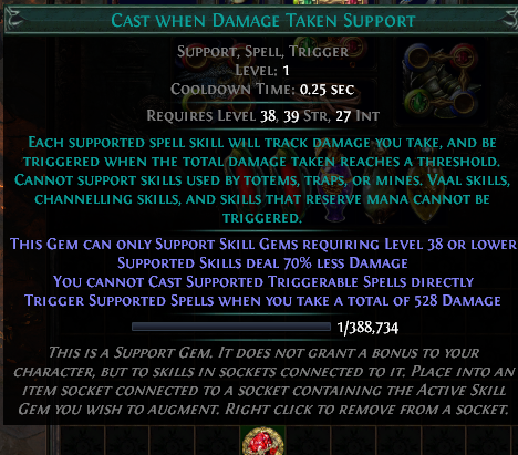 Cwdt Poe Setup 3 10 Cast When Damage Taken Support Build What is the best cast on damage taken 4 link setup? poe currency