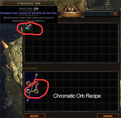 Chromatic Orb Recipe
