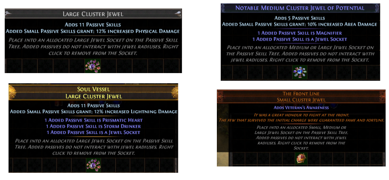 Cluster JewelRarity