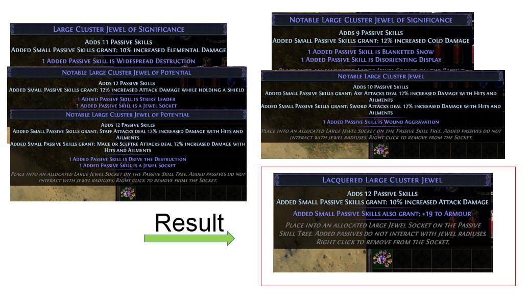 Cluster Jewel Recipe