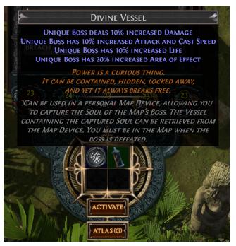 Divine Vessel Map Device