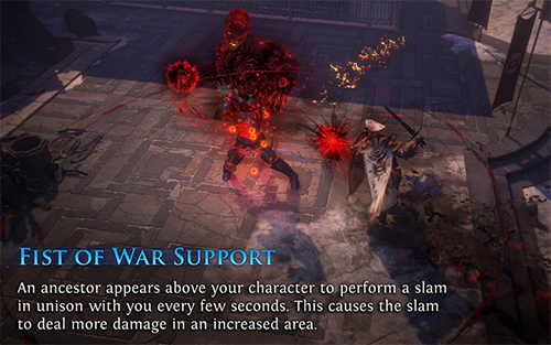 Fist of War Support