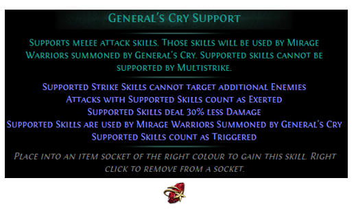 General's Cry