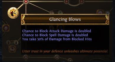 Glancing Blows