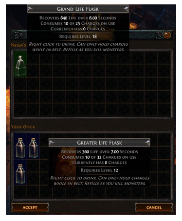 Greater Life Flask Recipe