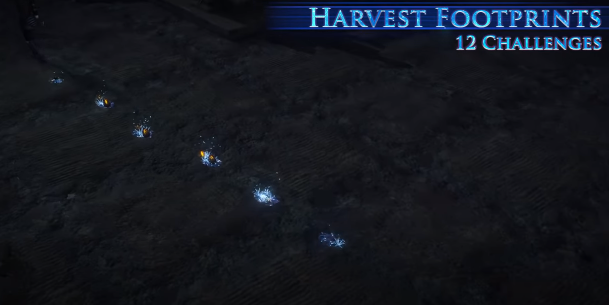 Harvest Footprints Effect