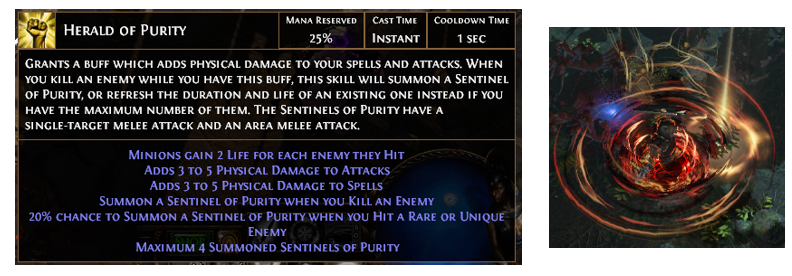 Herald Of Purity Poe Build Necromancer Ring Support Gems Mtx Cannot support skills that don't come from gems. poe currency