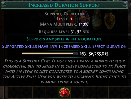 Increased Duration Support