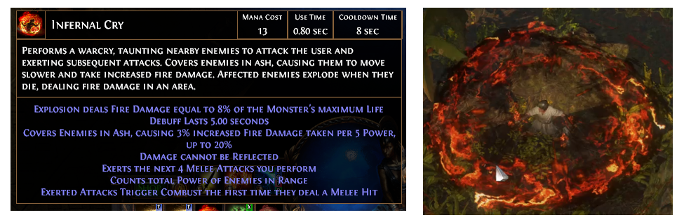 Infernal Cry Builds