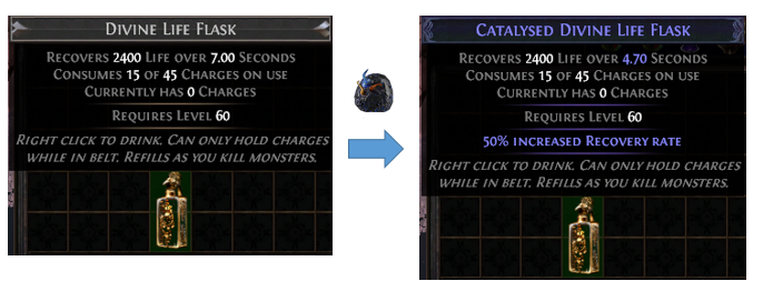 Life Flask Crafting