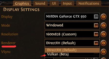 New Vulkan Renderer