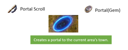 PoE Portal Gem