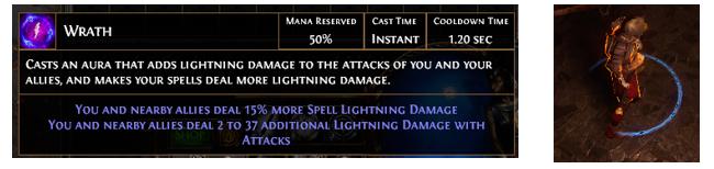 PoE Wrath Aura