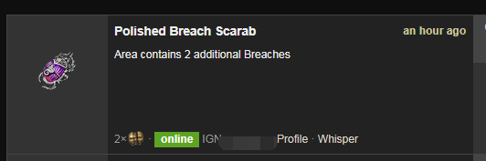 Polished Breach Scarab