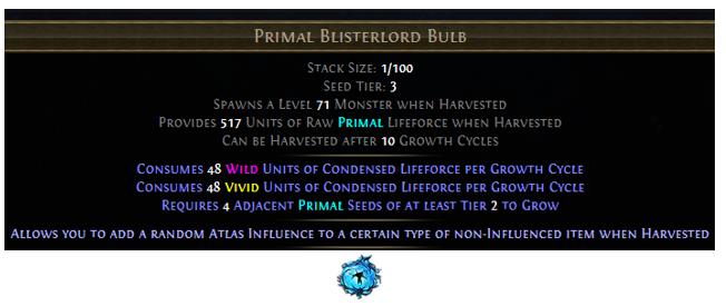 Primal Blisterlord Bulb