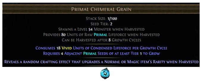 Primal Chimeral Grain
