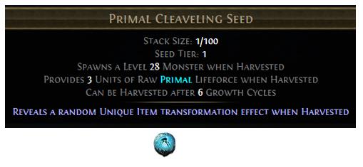 Primal Cleaveling Seed