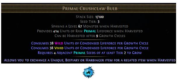 Primal Crushclaw Bulb
