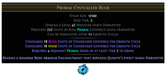 Primal Cystcaller Bulb