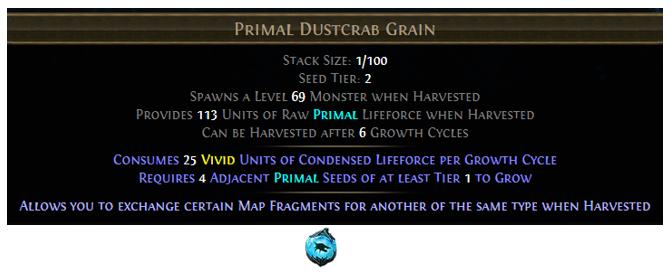 Primal Dustcrab Grain