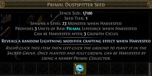 Primal Dustspitter Seed